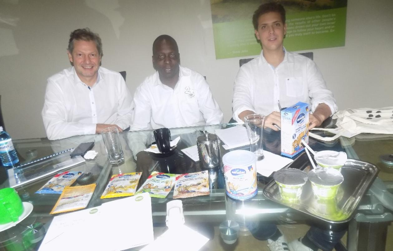 Tomosi's Farm Meets Belgium Infant Cereal Manufacturers