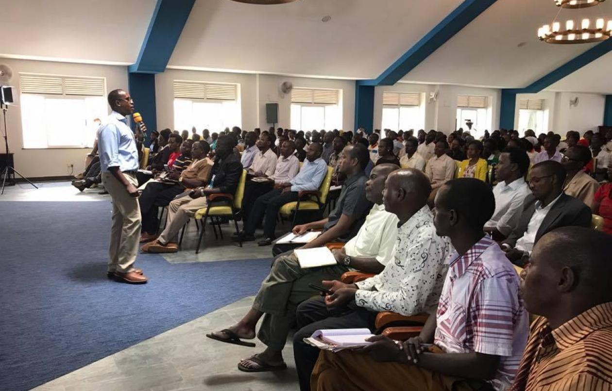 Odrek Rwabwogo Conducts Third Gaining Scale Public Lecture